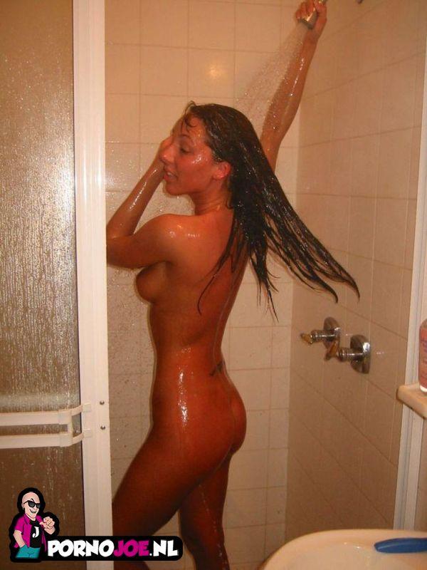Girls Caught Naked In Shower